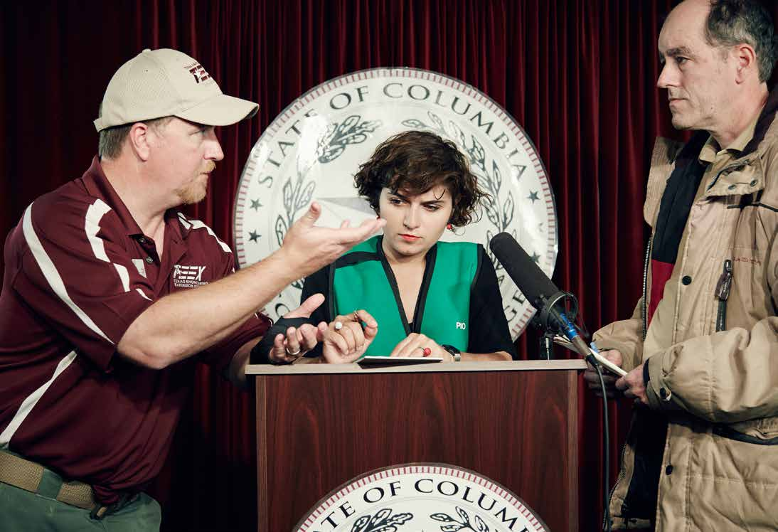 Dr. Peter Jenniskens, meteor showers specialist at the SETI Institute, and Director Nelly Ben Hayoun