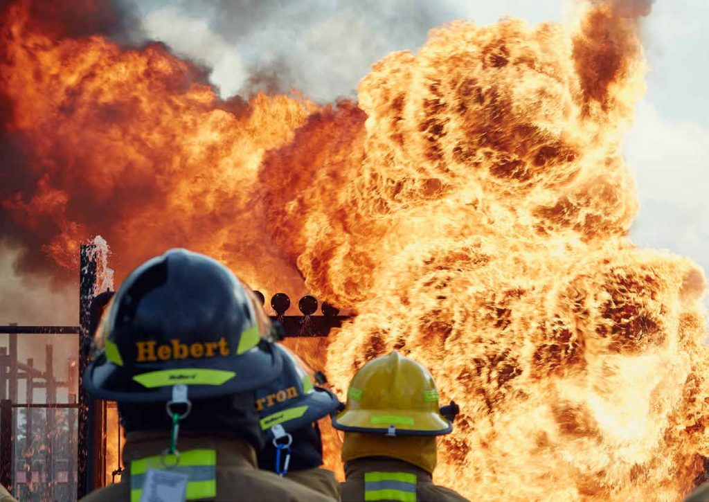 Disaster City training on asteroid impact response