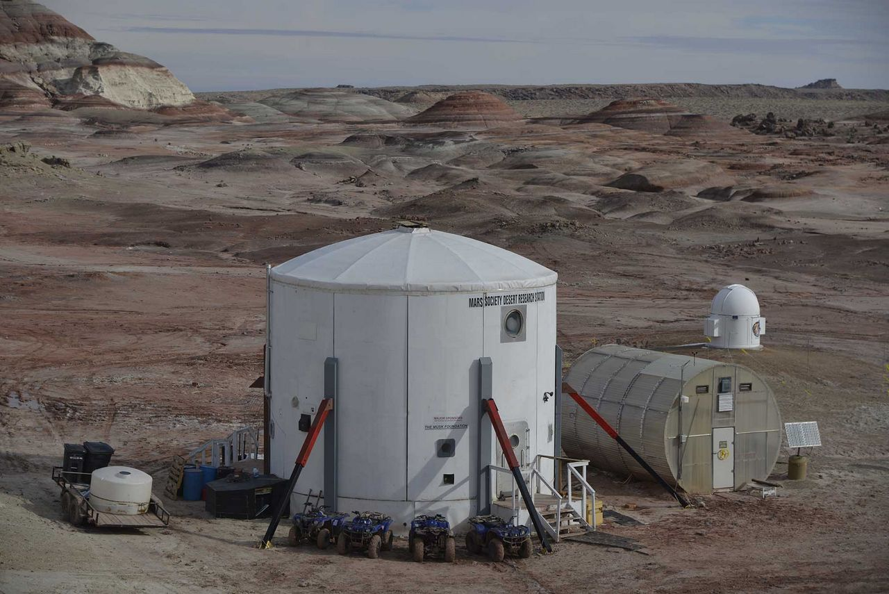 The Mars Desert Research Station in Utah