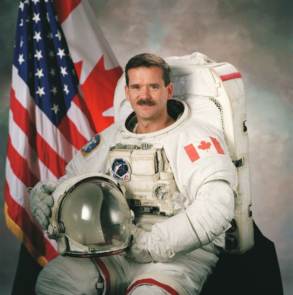 Canadian astronaut Chris Hadfield. credits: Wikimedia