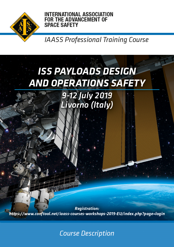 Course: ISS Payloads Design and Operations Safety