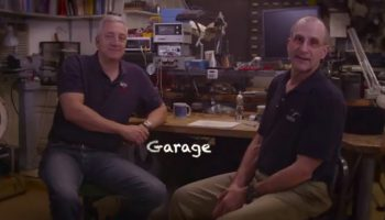 ISS Science Garage with astronauts Mike Massimino and Don Pettit (Credits: NASA)