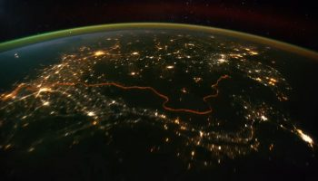 Earth, a timelapse video sequence compiled by Michael Konig from ISS imagery