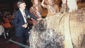 Skylab -- a piece of it, anyway -- plays a supporting role at the pageant. (Naa.gov.au)