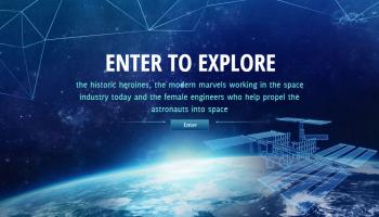 Telegraph Jobs Women in Space website