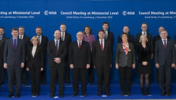 European ministers and representatives at the ESA Council at Ministerial Level, Luxembourg, on 2 December 2014. - Credits: ESA - S. Corvaja.