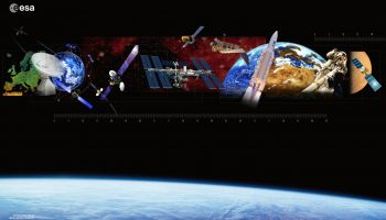 Space in Europe – Backdrop. – Credits: ESA.