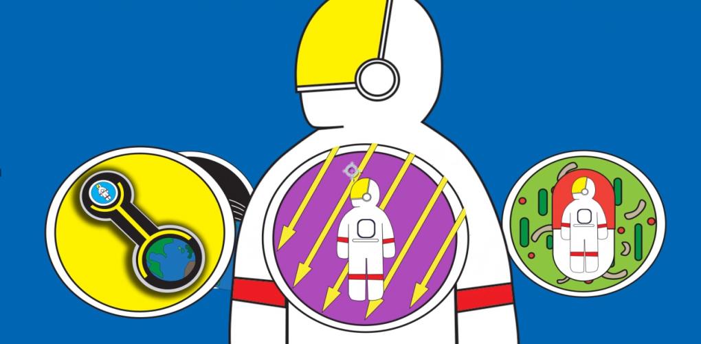 Hazards of Human Spaceflight. credits: NASA